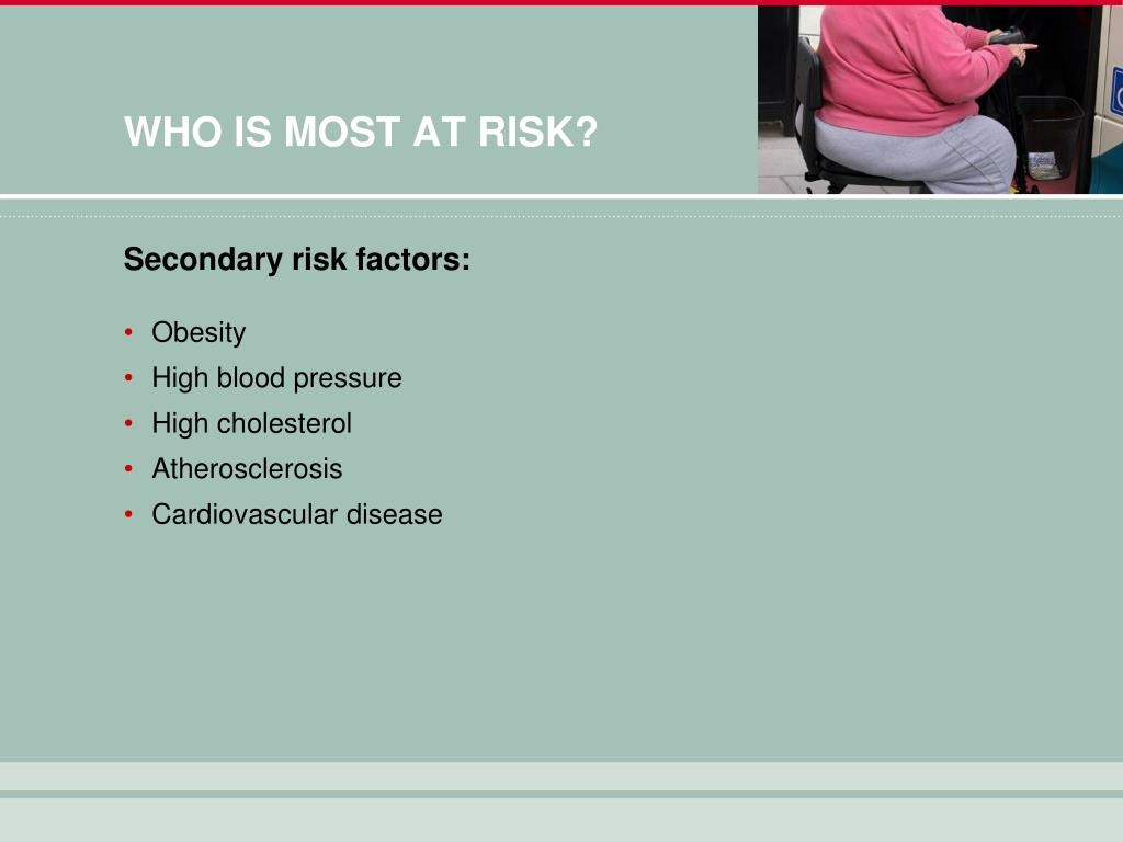 WHO IS MOST AT RISK?