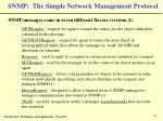 snmp the simple network management protocol11