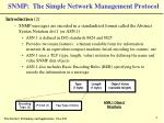 snmp the simple network management protocol9