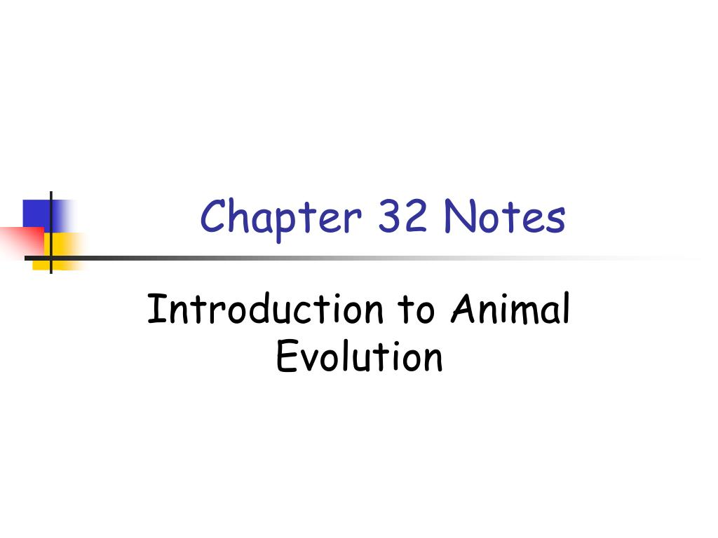 chapter 32 notes l.