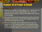 psalms 16 a prayer of david