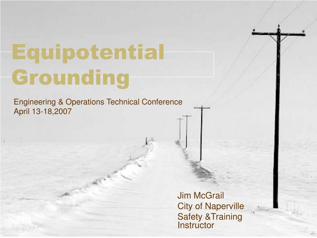 equipotential grounding l.