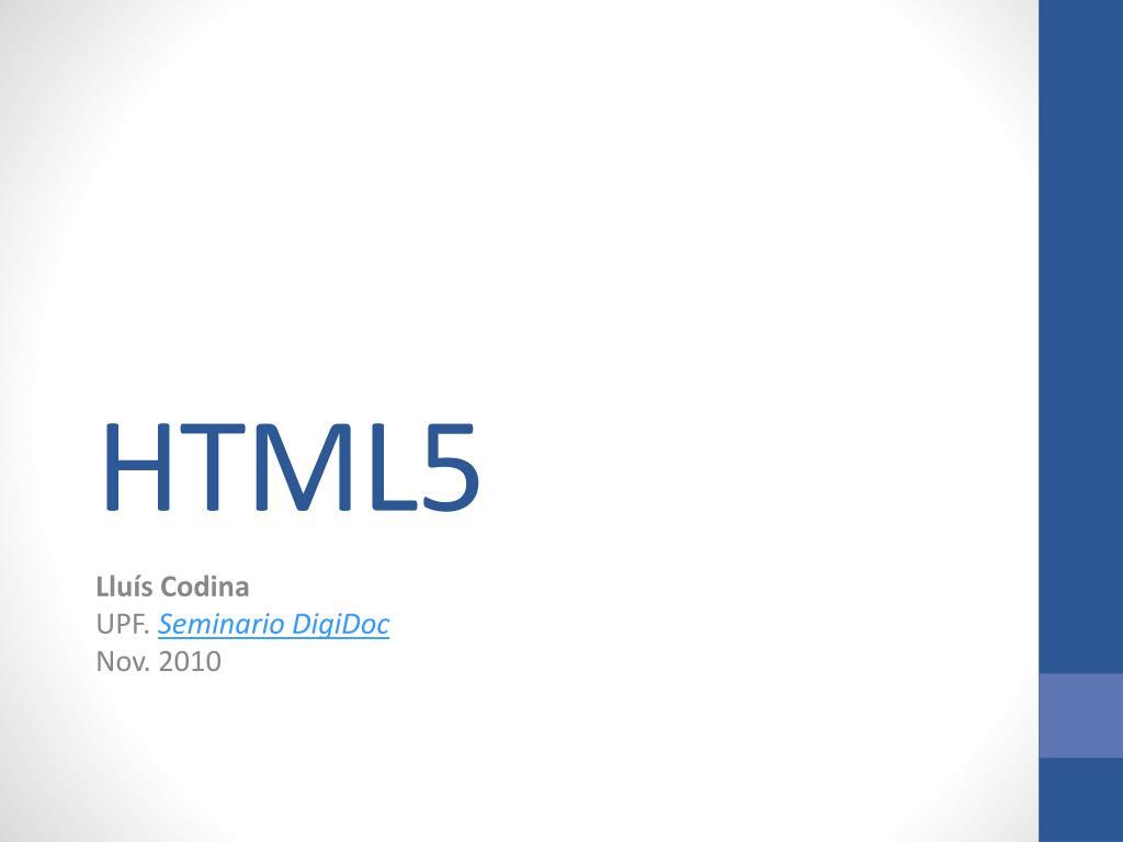 html5 l.