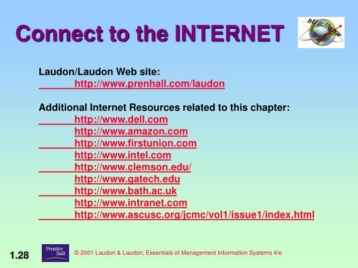 © 2001 Laudon & Laudon, Essentials of Management Information Systems 4/e