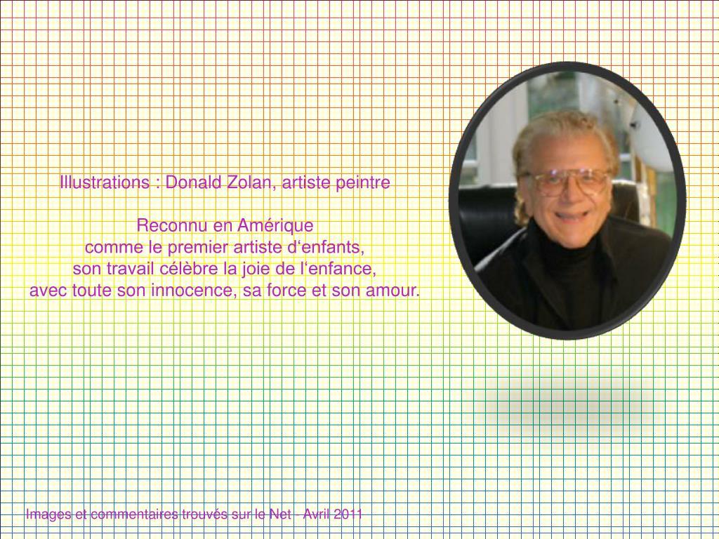 Illustrations : Donald Zolan, artiste peintre