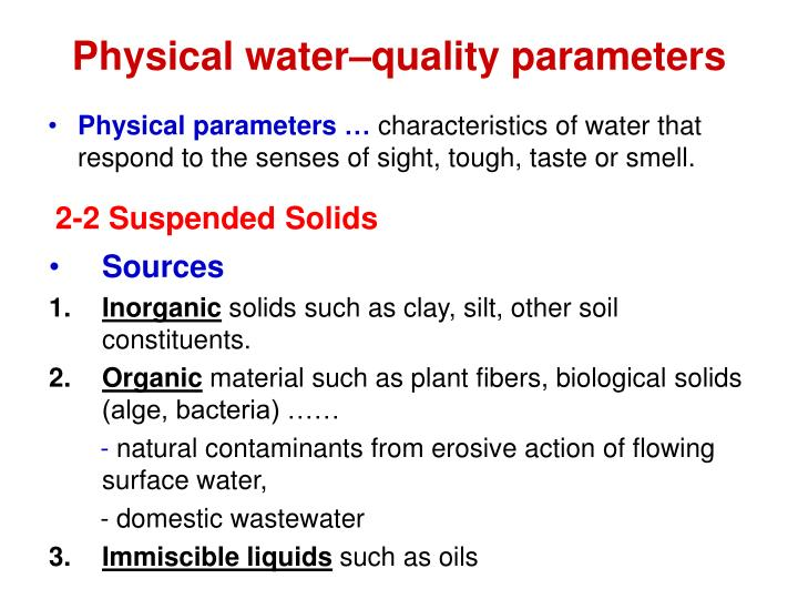 Ppt the islamic university of gaza faculty of for Soil quality parameters