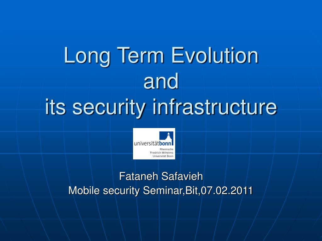 long term evolution and its security infrastructure l.