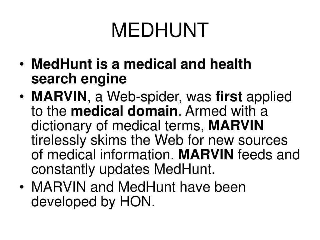 MEDHUNT
