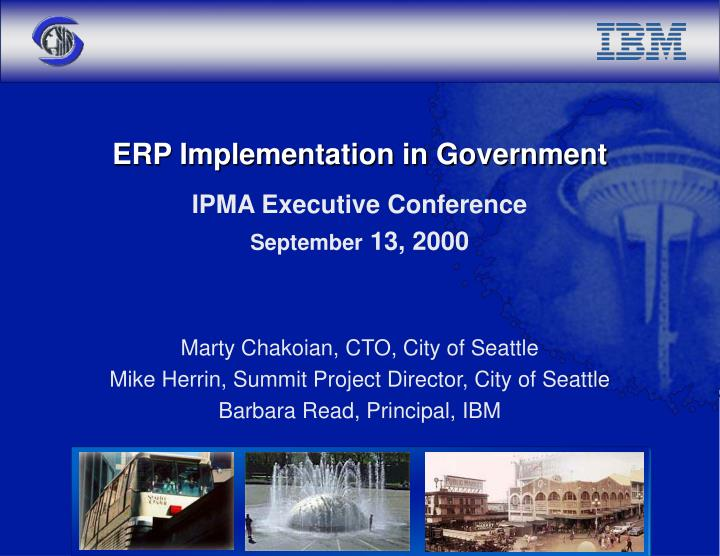 erp implementation in government n.