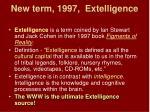 new term 1997 extelligence