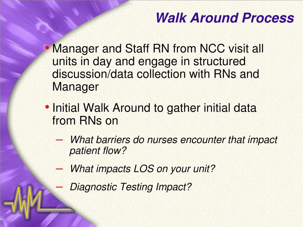 Walk Around Process
