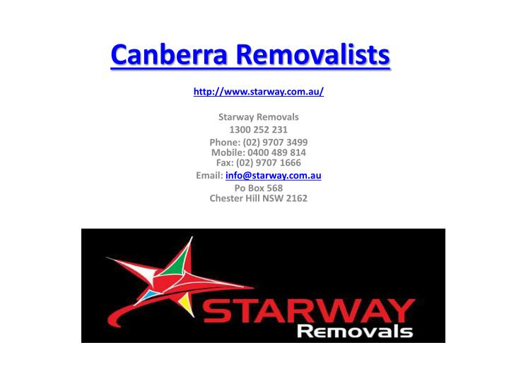canberra removalists n.