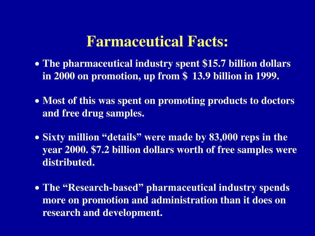 Farmaceutical Facts: