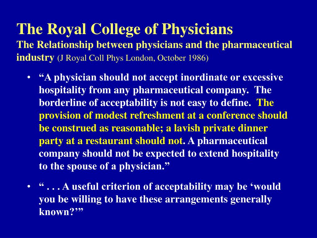 The Royal College of Physicians