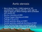 aortic stenosis26