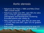 aortic stenosis28