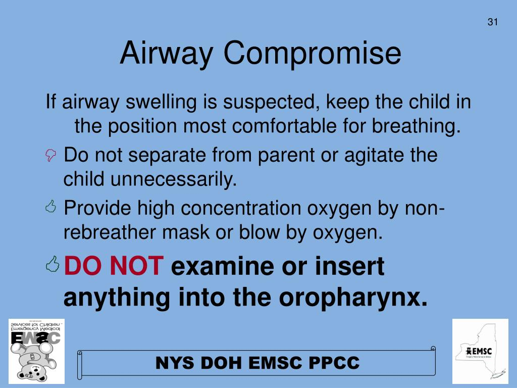 Airway Compromise