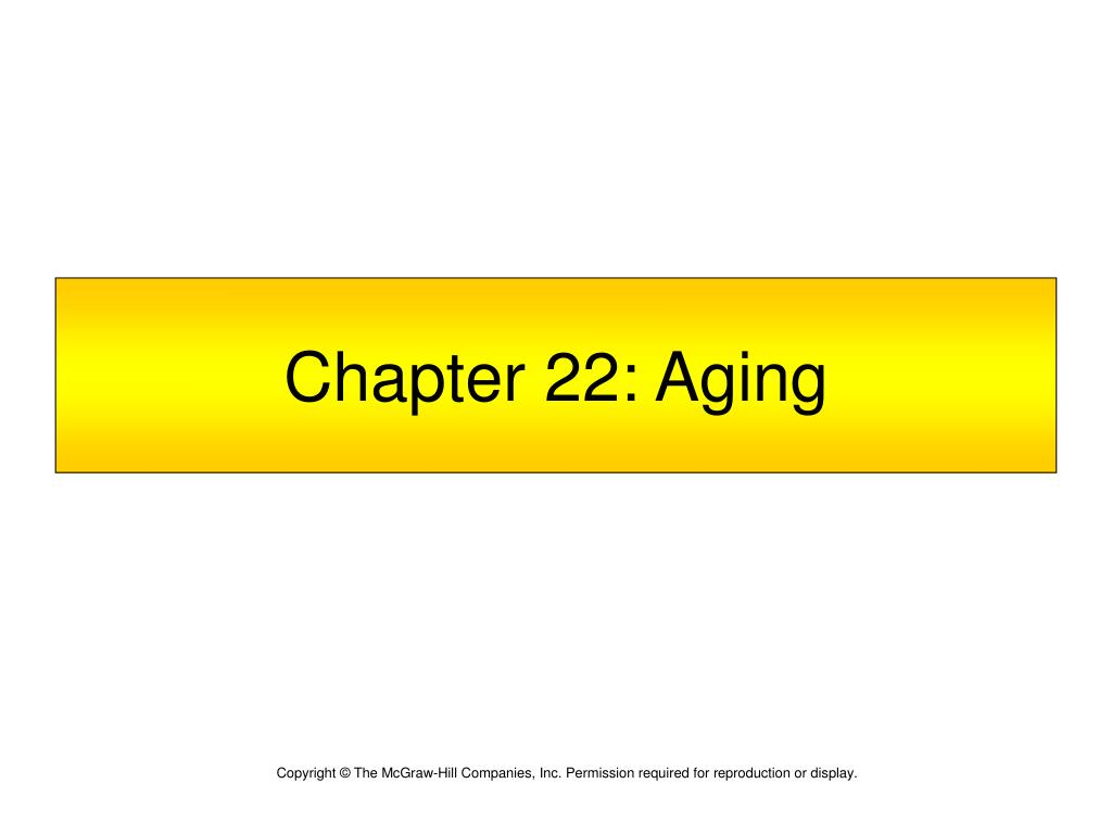 chapter 22 aging l.