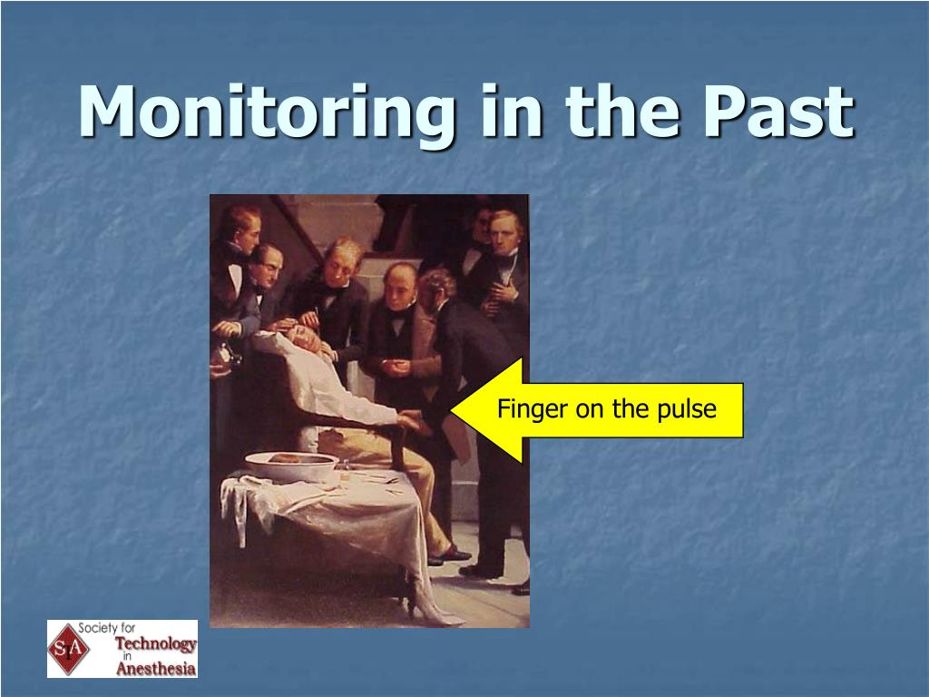 Monitoring in the Past