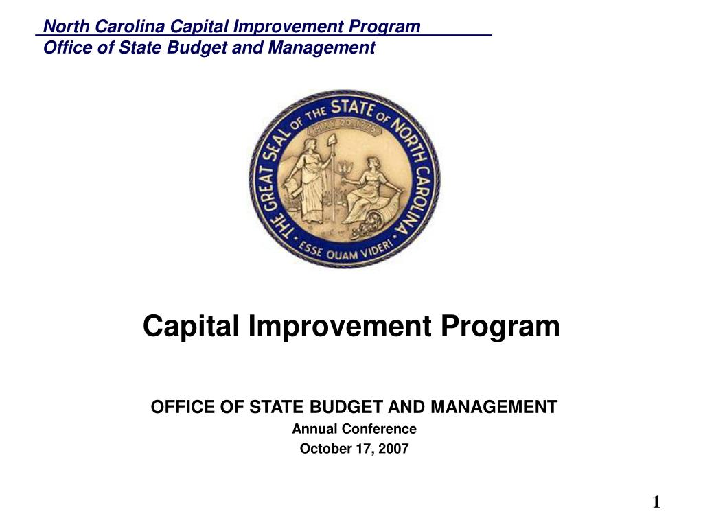 capital improvement program l.