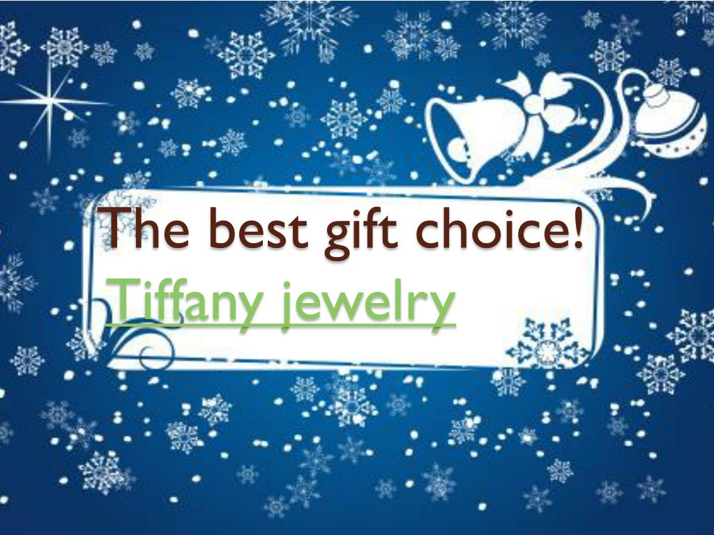 the best gift choice tiffany jewelry l.