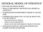 general model of strategy