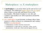 marketplaces vs e marketplaces