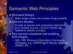 semantic web principles58