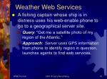weather web services