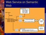 web service on semantic web