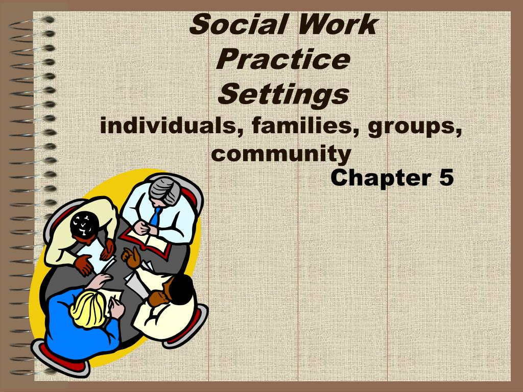 social work practice settings individuals families groups community l.