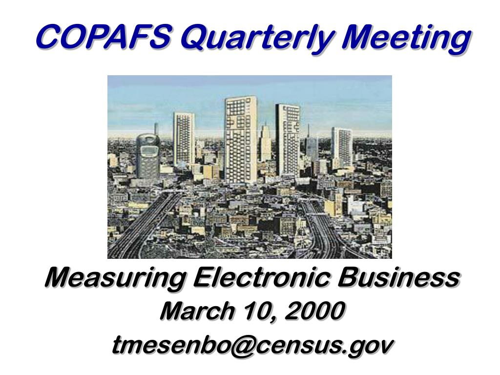 copafs quarterly meeting l.