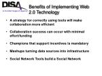 benefits of implementing web 2 0 technology