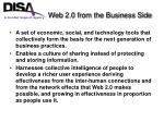 web 2 0 from the business side