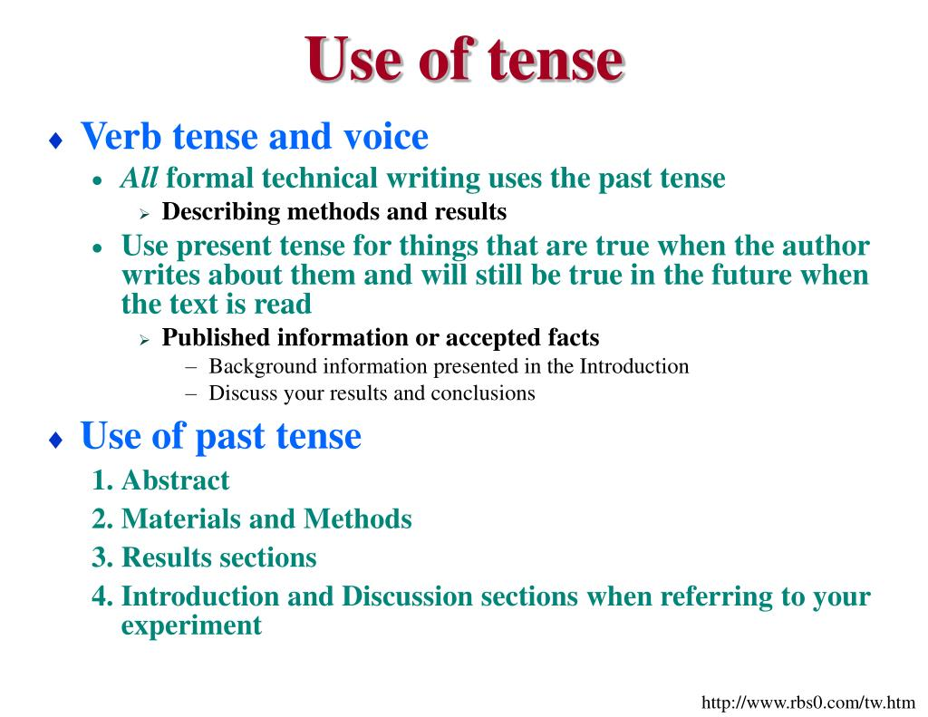 thesis past tense I'm a non-native speaker and currently writing on a thesis in english i'm struggeling to avoid the past tense accoriding to my advisor i'm supposed to write the thesis in present tense.