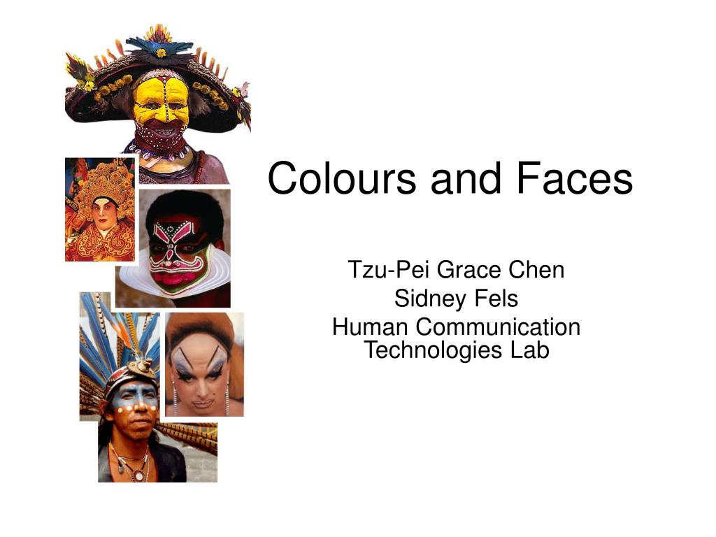 colours and faces l.