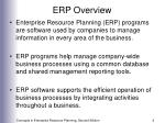erp overview