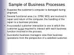 sample of business processes7
