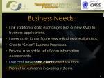 business needs