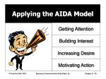 applying the aida model