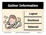 gather information
