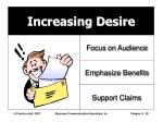 increasing desire