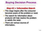 buying decision process29