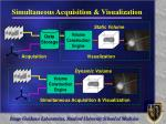 simultaneous acquisition visualization