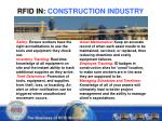 rfid in construction industry