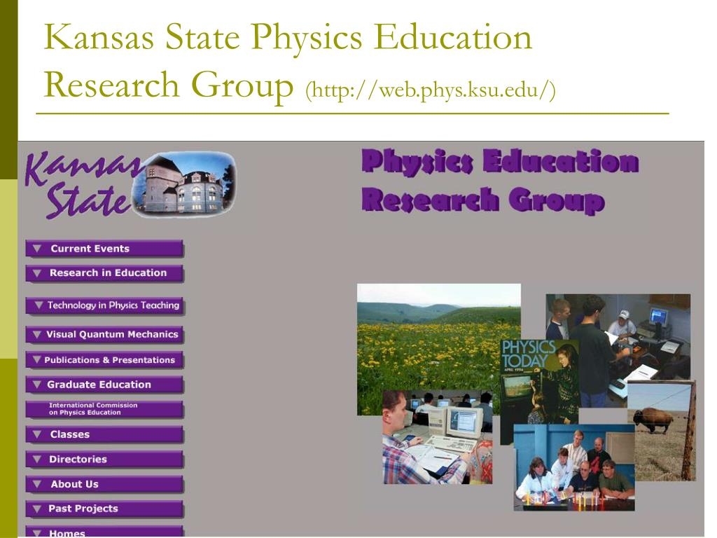 Kansas State Physics Education Research Group