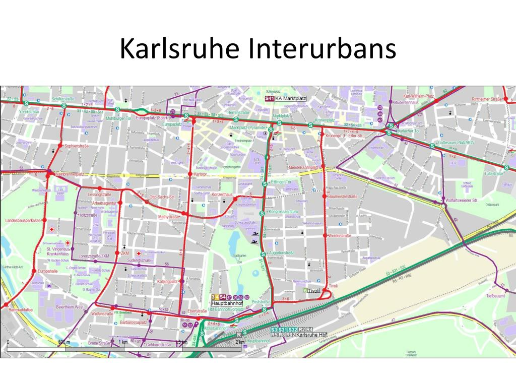 Karlsruhe Interurbans