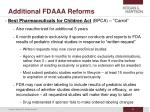 additional fdaaa reforms44