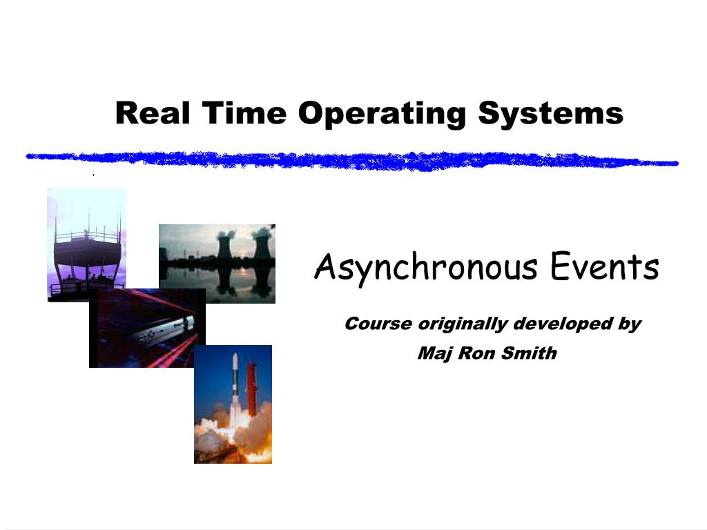 real time operating systems l.
