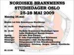 nordiske brannmenns studiedager oslo 25 28 mai 2009